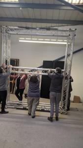 Building theatre