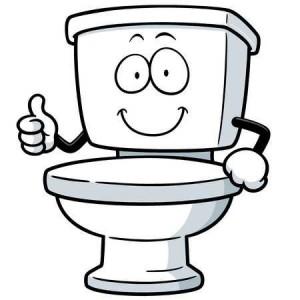 toilet cartoon